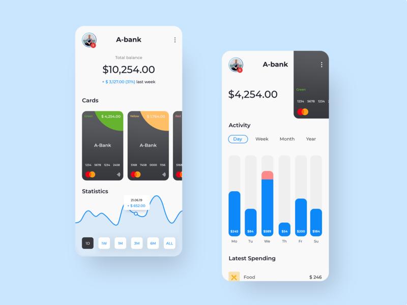 Banking mobile app website web design web ux ui design app