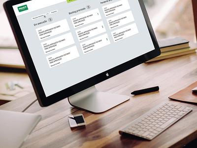 System of organizate the backlog demande ux ui desktop application desktop app