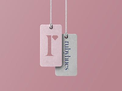 rubyhues branding logomark minimal logo graphic vector designer typography graphicdesgn branding design