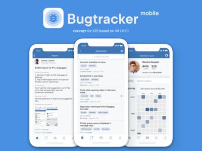 VK Bugtracker concept for VK Testers.