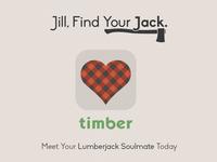 Timber - A Lumberjack Dating App