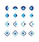 Viewever Services Company Logo Design