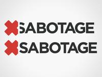 Sabotage Logo