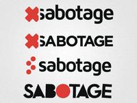 Need Feedback: Sabotage Logo