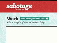 Sabotage Site