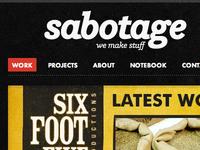 New Sabotage