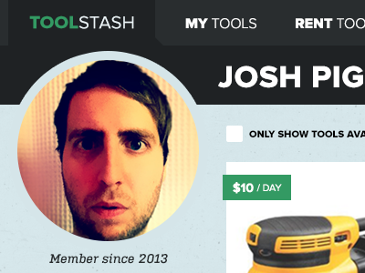 ToolStash Profile View
