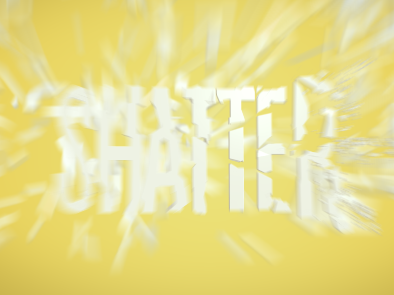 Shatter motion animation after effects shatter explode