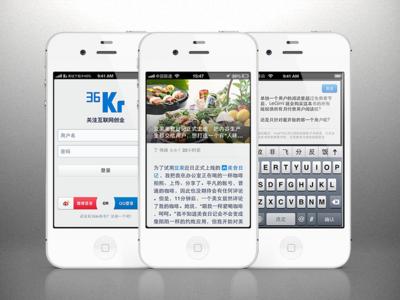 36kr app