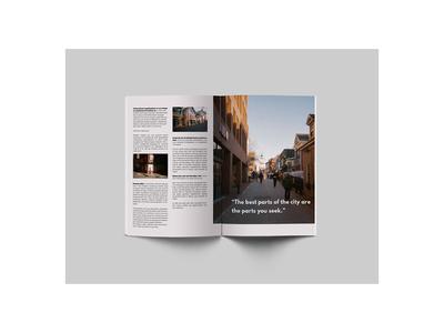 Boston magazine guide layout design editorial design