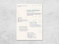 Salut Events Proposal
