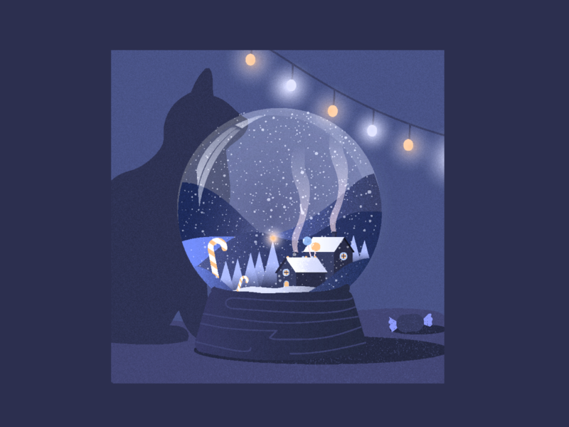 candyland holiday invite christmas invite invite string lights candy candyland snow winter illustration christmas card christmas eve holidays christmas snowglobe snow globe