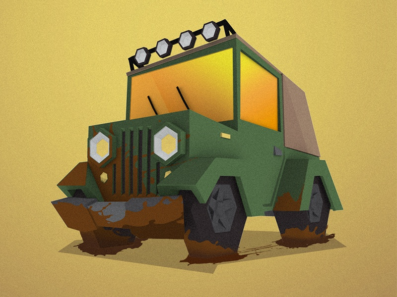 Explore auto automobile car 3d graphic design jeep truck poster adventure