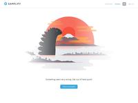 Godzilla Error Page
