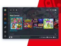 Nintendo Switch UI Concept