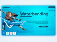 Avatar UI - Waterbending (Katara)