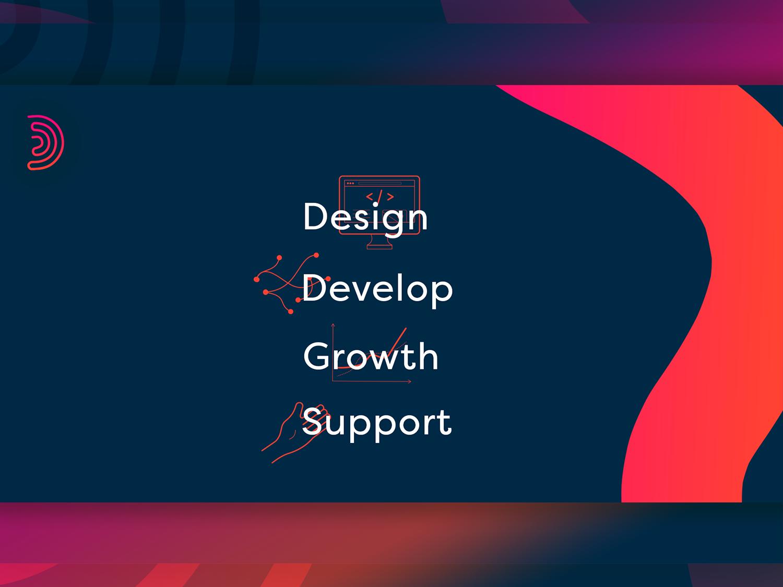Dilize Digital Concept developer logo design illustrator adobe abstract webpage design concept web design web  design branding and identity icons set icons