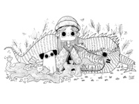 Me and my friends :D kidlit dragon cute children art illustration kidsillustration digitalart