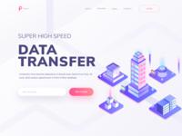 Super high speed data transfer