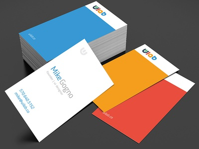 Branding material business cards branding user interface ui