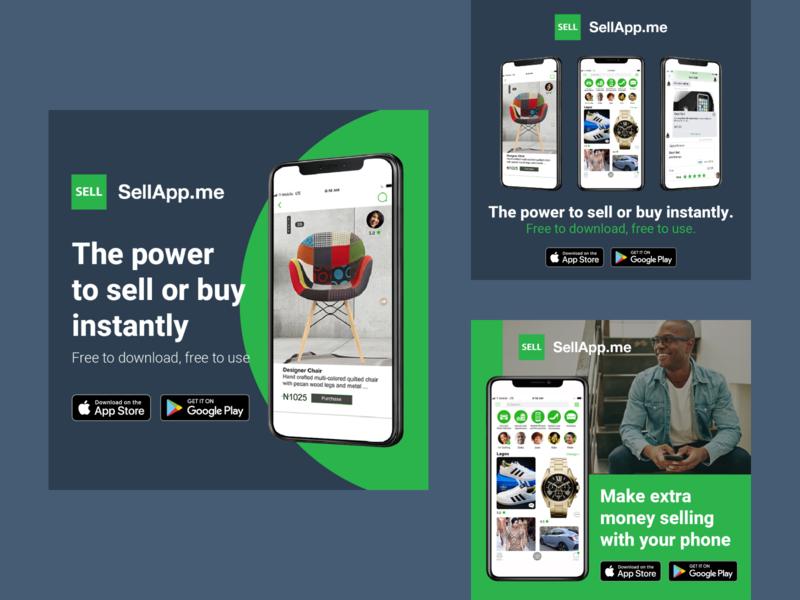 SellApp.me Ad marketing advertising banner ecommerce selling social media design digital ad ad design advertisement ad ads