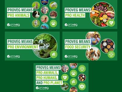 Plant-Based Facebook Ads plant-based vegan vegetarian social media ads figma facebook ad display ads banner ads advertisement ads design ads facebook ads animals green plant based facebook