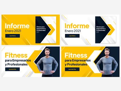 Fitness LinkedIn Ads digital ads social media ads design facebook ad ad design display ads graphic design ads design banner ads figma advertisement ads linkedin fitness