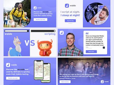 Facebook Ads – No-Code Testing Tool creatives social media ad no-code advert llama design digital ads display ads ad design advertisement figma ads design facebook ad banner ads ads graphic design