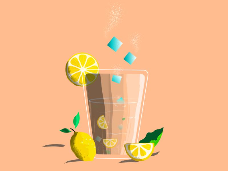 lemon lemons texture vector illustration india hot summer ice lemonade lemon