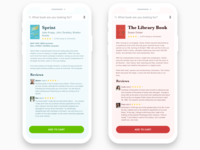 Monochromatic Book App