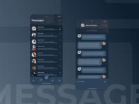 Dark UI messages