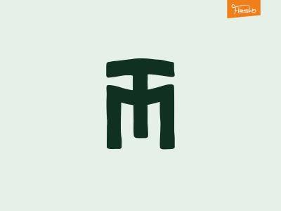 monogramTM logo individuality personality tamga runs monogram
