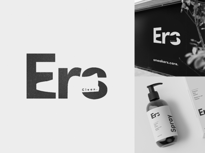 Ers, Sneakers Care - Logotype Exploration