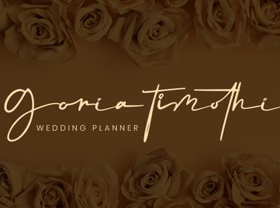 Signature Logo Wedding Planner calligraphy font branding font wedding font handwriting fonts logo fonts modern fonts handlettering app font web font