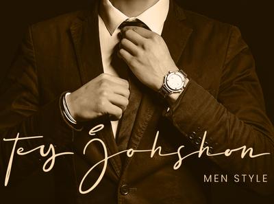 Men's Wear Signature Logo signature display logo-type signatures logo logo bussiness card fashion ligatures script fonts