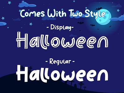 Bone Master - Halloween Font font handwriting display quirky kid font cute font typeface cursive handwritten fall web spider bone pumpkin thanksgiving silhoutte horror spooky halloween