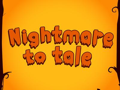 Smelly Blood - Halloween Font typography font quirky kid font cute font typeface cursive handwritten blood web spider bone pumpkin thanksgiving silhoutte horror spooky halloween