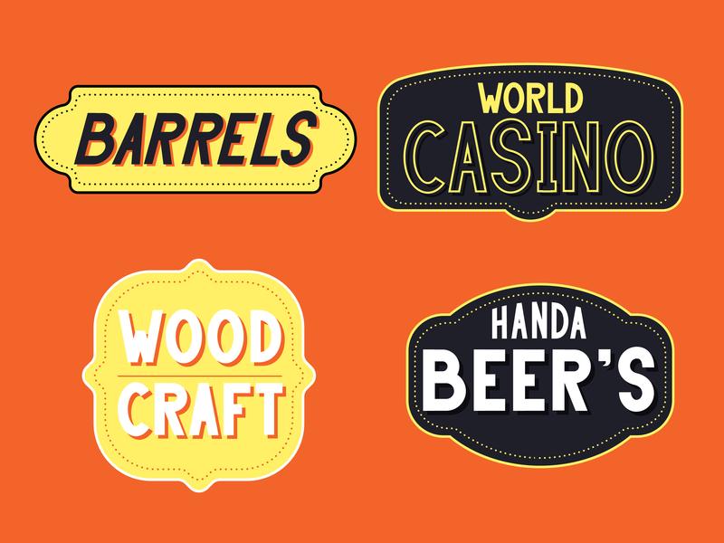 Handa Font Preview lettering handwritten sans sanserif vector logo type design elegant branding typography font