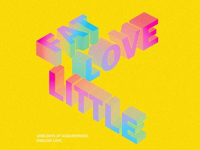 Fat love litle-font design