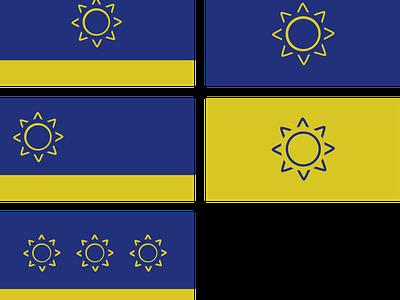 KS Flag Rebound unsolicited redesign sunflower kansas flag