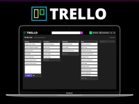 Triphy, a branding mashup of Trello and Giphy