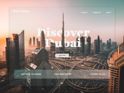 Dubai Tourism Website