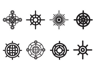 Geometric Compass minimal simplicity tattoo compass geometry
