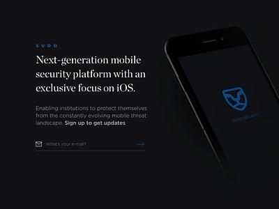 Sudo Security 2 dark chronicle website iphone web landing