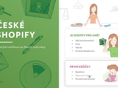 Shopify guide for Czechia blog help guide manual shopify