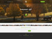 Homepage v17 dribbble