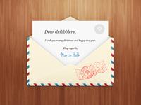 Newsletter envelope PSD