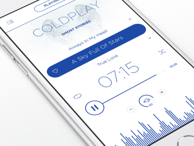 Music Player iOS App