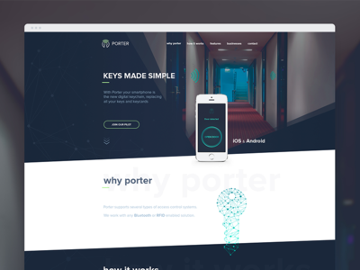 Porter Web page