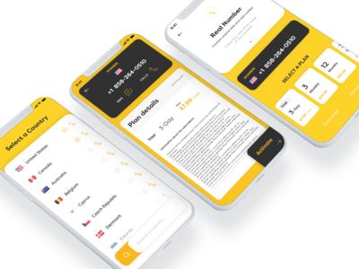 Rent-a-number iOS App